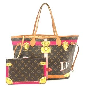 Neverfull Pochette with Nm Mm Shoulder Bag